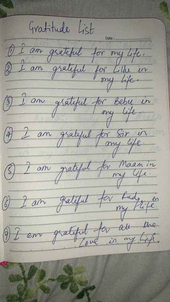India Tv - Sushant's gratitude list