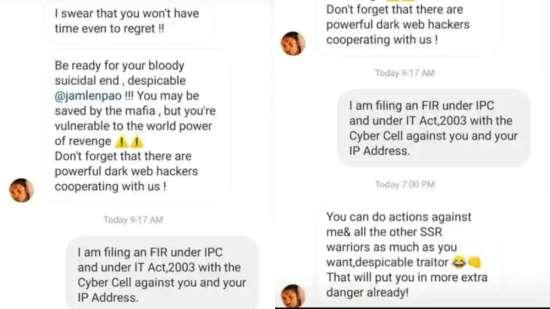 India Tv -  SSR's friend Samuel Haokip has filed a complaint