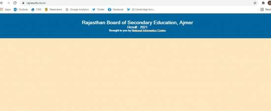 India Tv - RBSE class 10 result link is yet to be activated