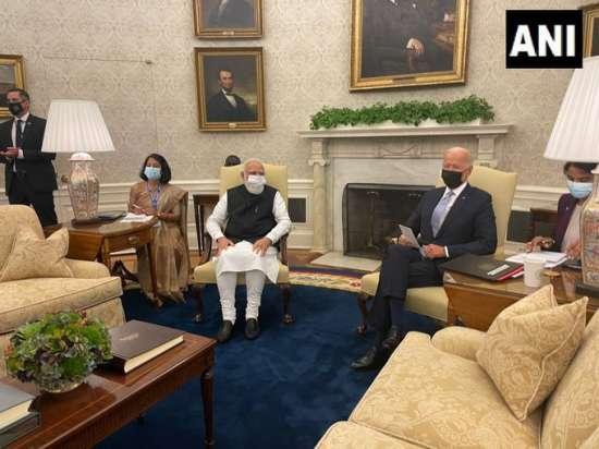 India Tv - PM modi biden meeting live updates