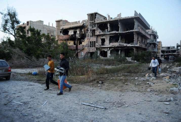 Libya bomb blast