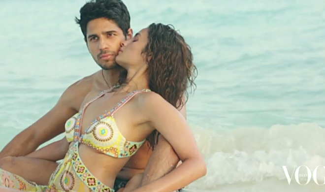 India Tv - Sidharth Malhotra and Alia Bhatt for Vogue