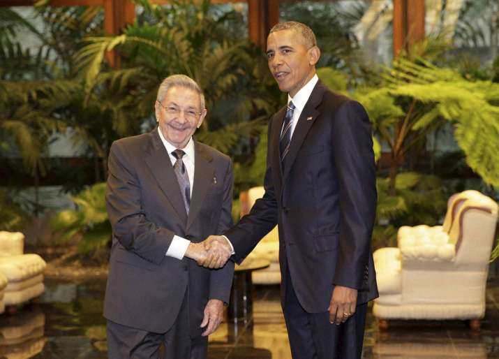 raul castro and barrack obama