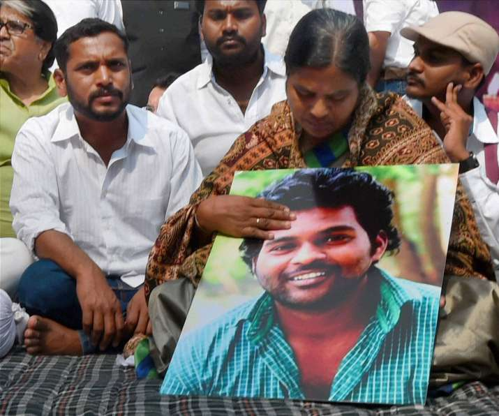 'Rohith Vemula was not a Dalit', says HRD Ministry