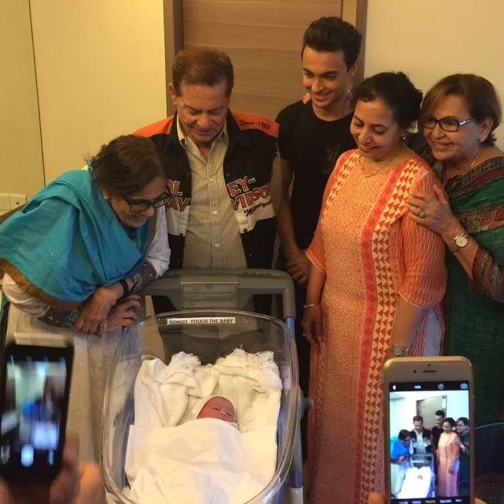 India Tv - Baby Ahil surrounded by his loved ones.