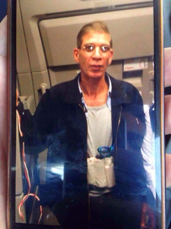 India Tv - egyptair hijacker 2