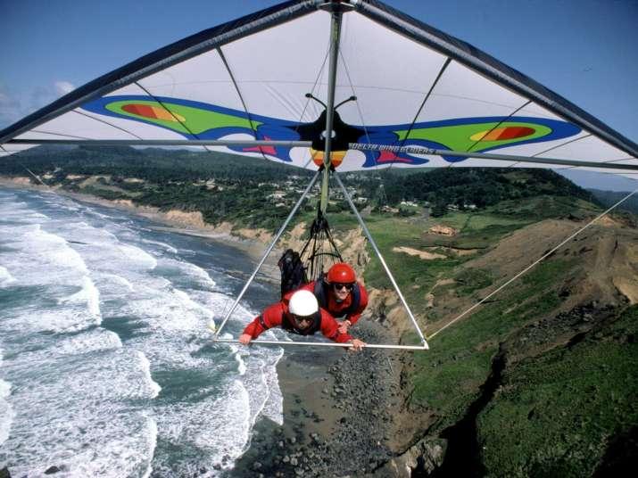India Tv - hang gliding