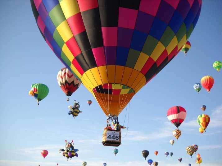 India Tv - Hot air ballooning