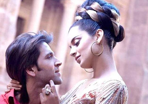 Kangana Ranaut and Hrithik Roshan