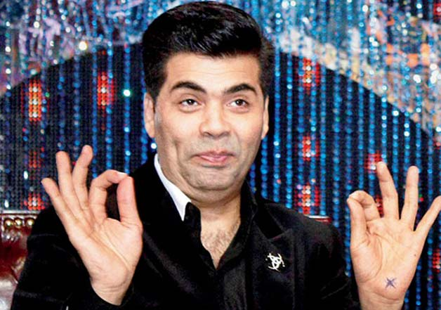 Karan Johar got an pic clicked with Po and posted it on