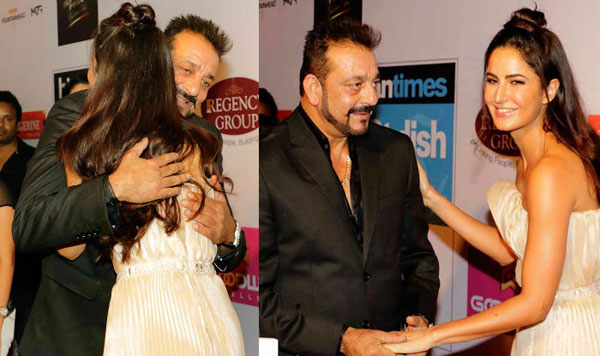 India Tv - Katrina Kaif and Sanjay Dutt