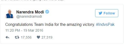 India Tv - Modi Tweet