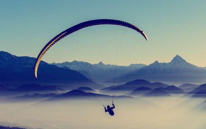 India Tv - Paragliding