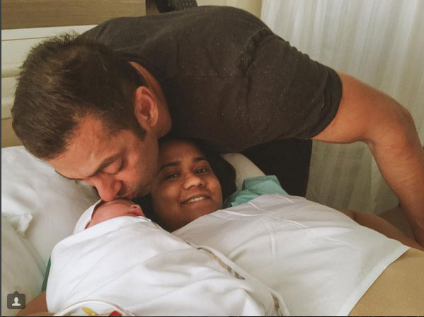India Tv - Salman Khan kissing Ahil