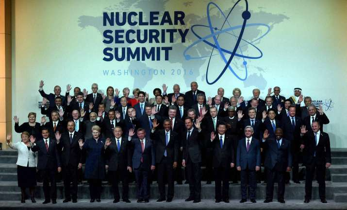 India finally joins 'gift baskets' at Nuclear Security