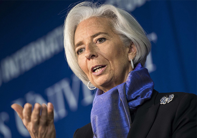 IMF chief Christine Lagarde optimistic about US economy