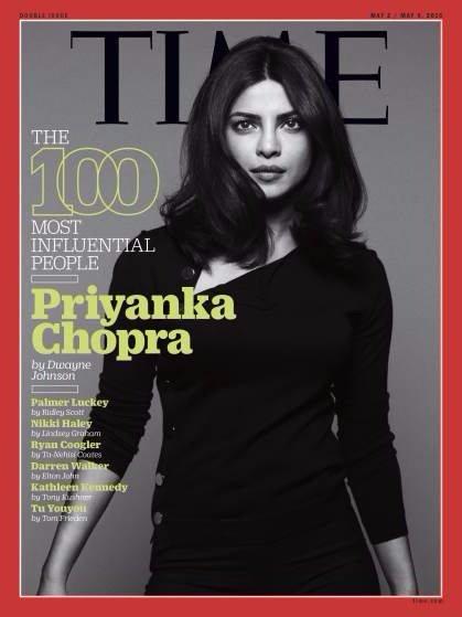 Priyanka Chopra on the cover of TIME