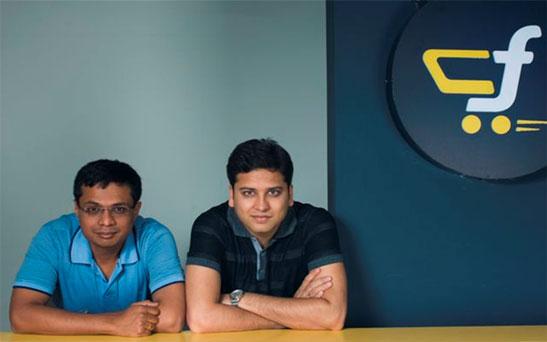 India Tv - Sachin and Binny Bansal