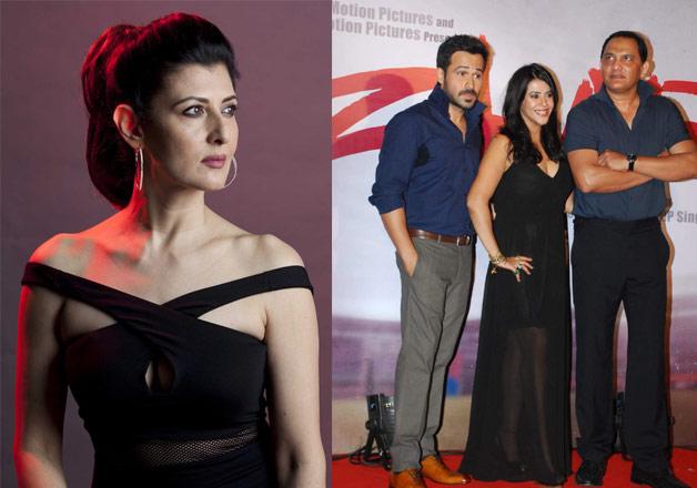 Sangeeta Bijlani, Emraan Hashmi with Ekta Kapoor and
