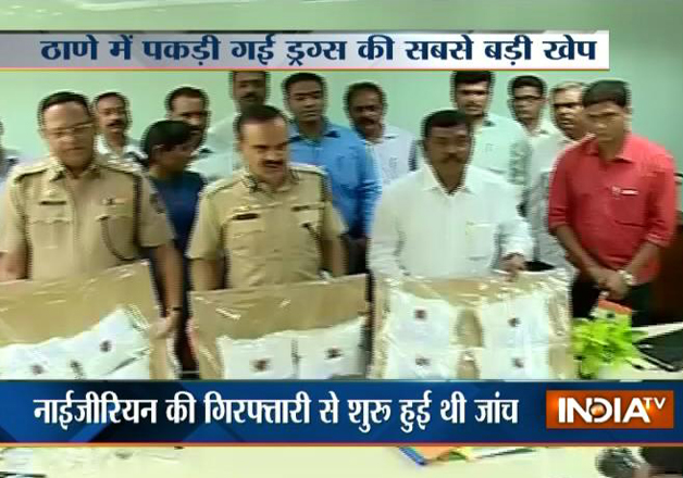 Rs 2200 crore drug bust in Thane linked to international