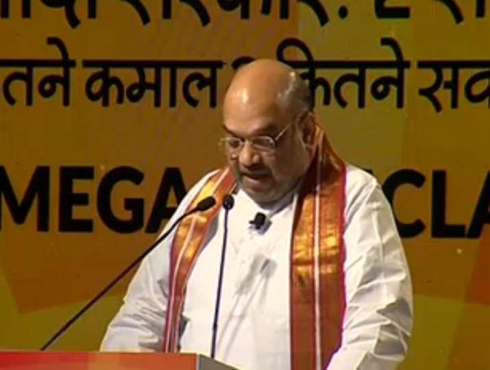 India Tv - Amit Shah at India TV Samvaad