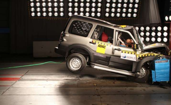 Car crash test