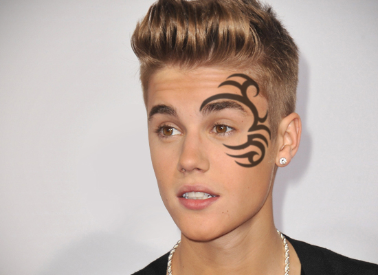 e724e3ee2d37c Justin Bieber gets new face tattoo | Hollywood News – India TV