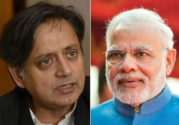 Modi-Tharoor
