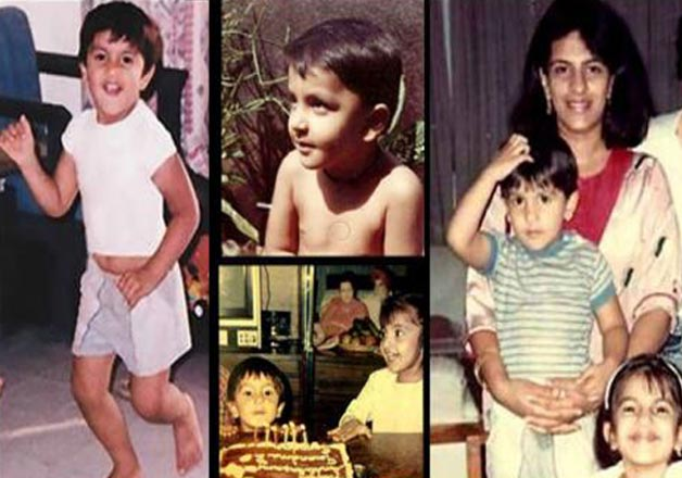 India Tv - Ranveer Singh childhood pics
