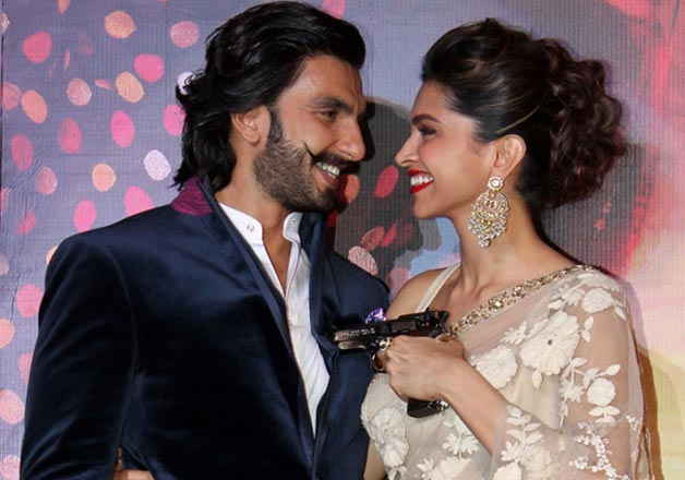India Tv - Ranveer Singh with his lady love Deepika Padukone