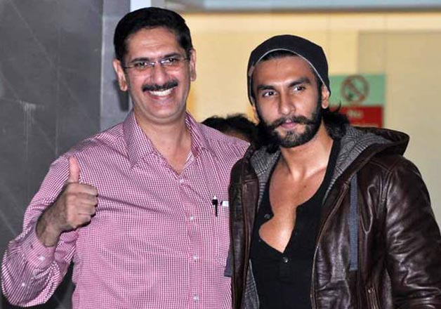 India Tv - Ranveer Singh with his father