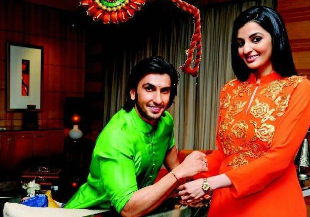 India Tv - Ranveer Singh with his sister Ritika