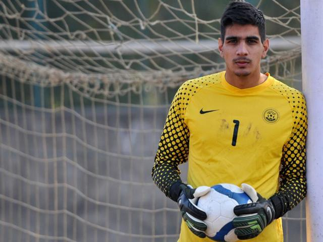 04a63af4b Sandhu becomes first Indian to play in European top league