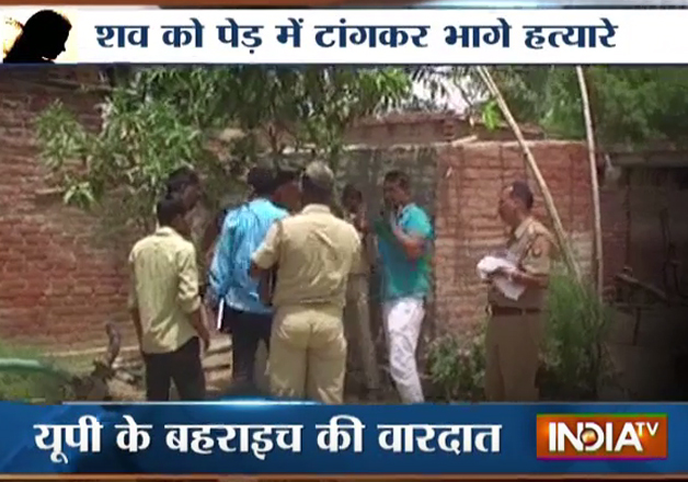 UP horror: 15-yr-old raped, murdered and tied to tree