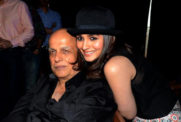 India Tv - Alia and Mahesh Bhatt