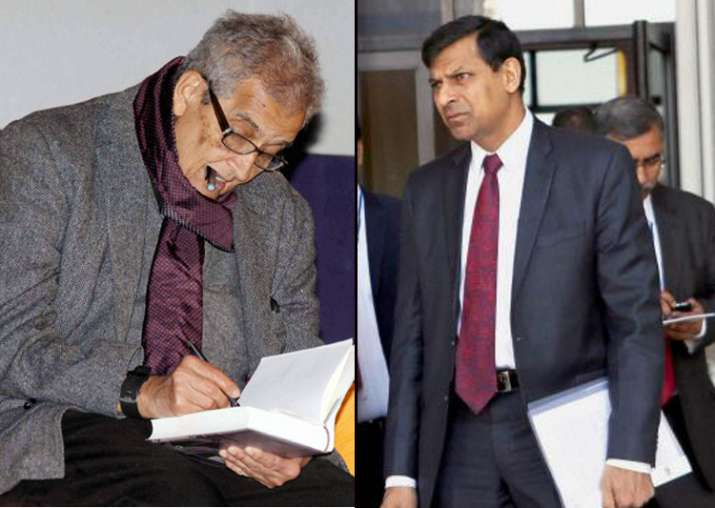 Amartya Sen and Raghuram Rajan