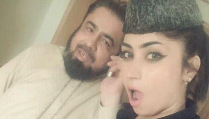 Qandeel with Mufti Abdul Qavi