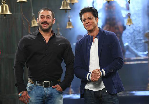 Salman Khan with Shah Rukh Khan