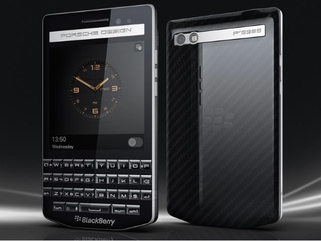 India Tv - Blackberry Porsche Design P9983