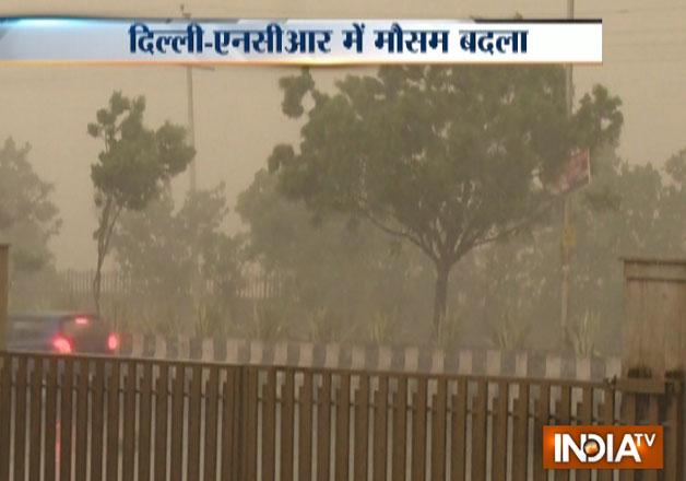 Heavy rain, thundershower lash Delhi-NCR