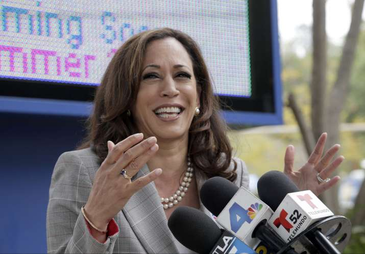 Indian-American California Attorney General Kamala Harris