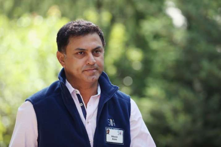 Nikesh Arora got a whopping Rs 2.7 cr per day as SoftBank