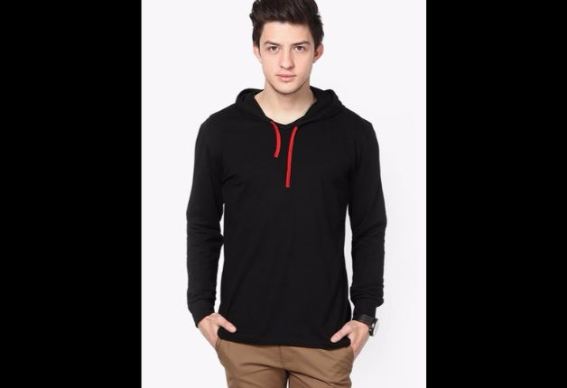 India Tv - Hooded T-shirt