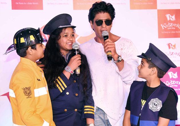 Shah Rukh Khan at KidZania