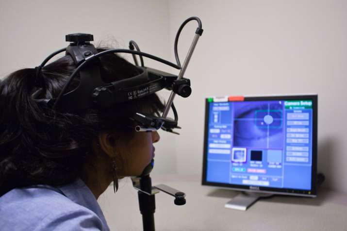 Phone-based eye-tracking system