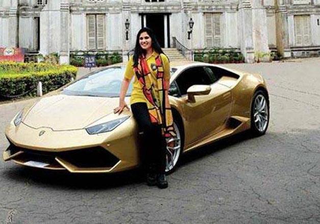 Sheetal Dugar the first Indian woman to own a Lamborghini