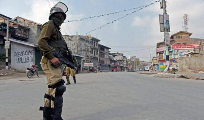Curfew remains in force in Kashmir