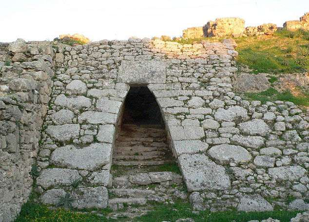 India Tv - entrance to the ancient Syrian city of Ugarit