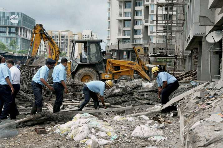 Nine labourers killed as building collapses in Pune