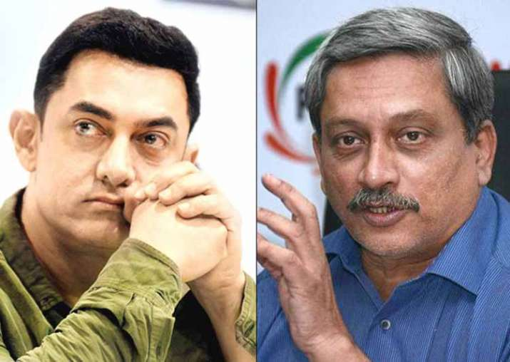 Manohar Parrikar takes swipe at Aamir Khan
